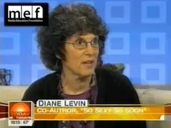 Diane Levin on the Today Show